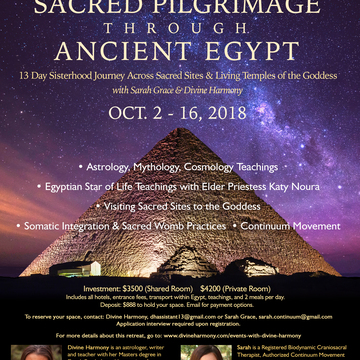 Sacred Sisterhood Pilgrimage through Ancient Egypt