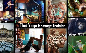 Thai Yoga Massage Training & River Safari in Costa Rica