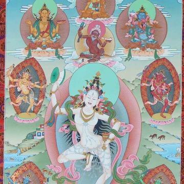 The Mandala of the Five Wisdom Dakinis