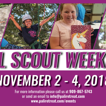 Fall Scouts Weekend