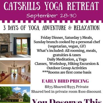 Catskills Yoga Retreat