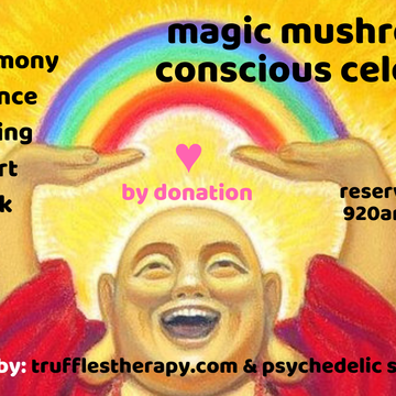 Magic Mushroom Day Conscious Celebration