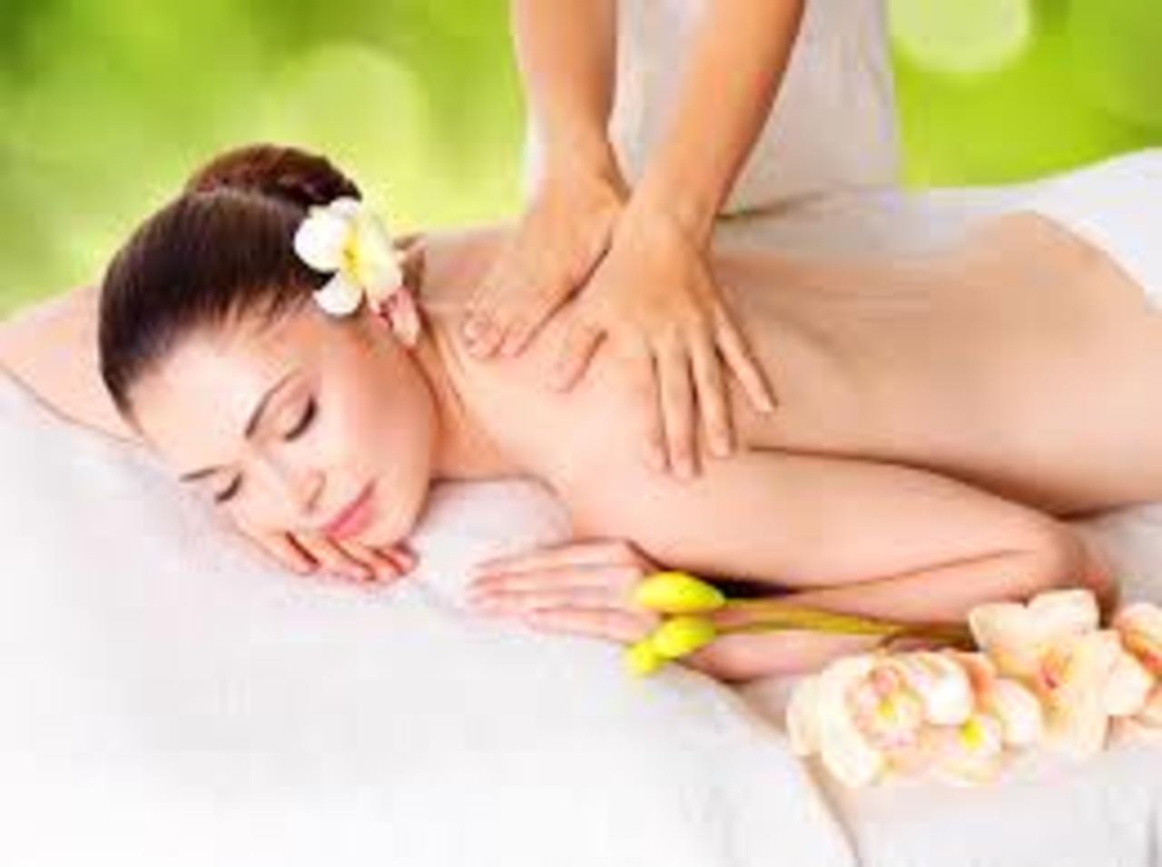 Undraped massage experience