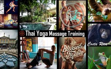Thai Yoga Massage Training in Costa Rica <3 Global Certification, Jungle Safari, Sacred Cacao, Art City & Much More