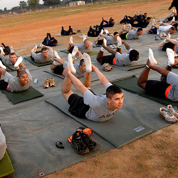 Warriors at Ease: Teaching Yoga in Military Settings