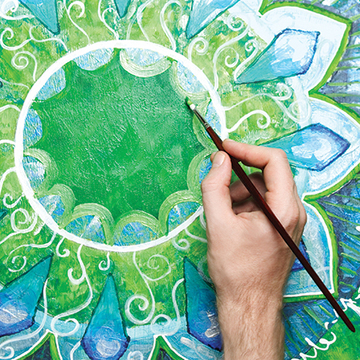 Yantra Painting: Transformation through Sacred Form