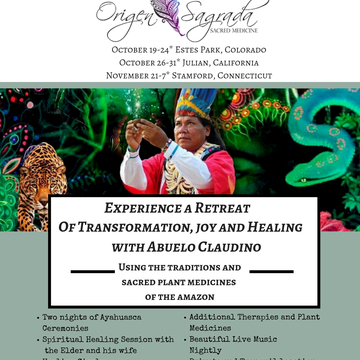 Ayahuasca Healing Retreat California