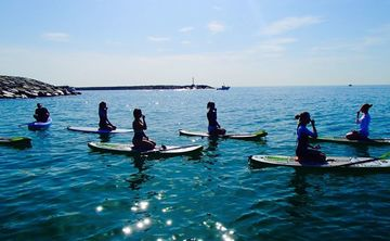 Stand Up Paddle Board Yoga Workshop July 2019