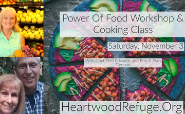Power of Food Workshop and Cooking Class