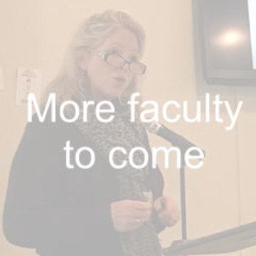 more faculty to come