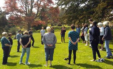 Sharpham House: Mindfulness through Singing Retreat-(4 nights)