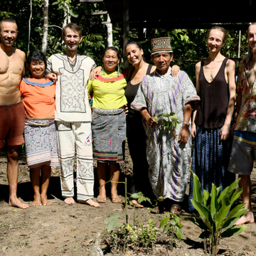 Ayahuasca Retreat and Shipibo Master Plant Diet  (Ajo Sacha, Bobinsana, Chiric Sanango, and other)