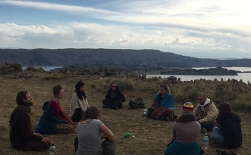 Silent Meditation Retreat at Lake Titicaca (every full moon)