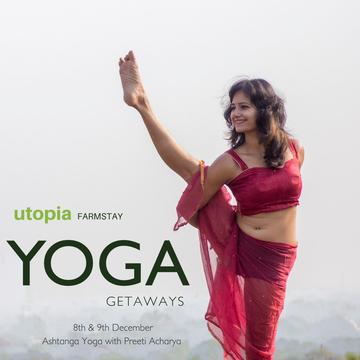 Yoga Getaways at Utopia Farmstay