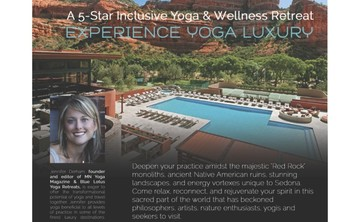 Blue Lotus Luxury Yoga Retreat in Sedona Arizona (10% off)