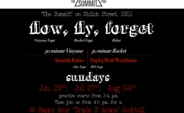 MoWa Yoga Presents: Flow, Fly, Forget