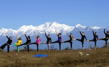 200 hours Yoga teacher training in India, Himalayas