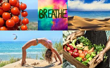Mindfulness meditation, yoga, food, seaside, culture in Sicily