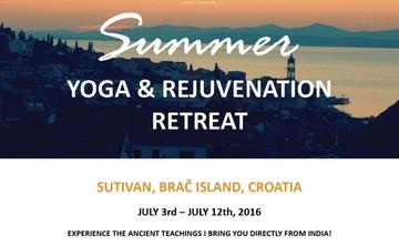 Anadi Summer Yoga and Rejuvenation Retreat, Brač, Croatia