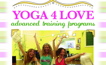 ONLINE 200 HOUR Yoga 4 Love Advanced Training Programs