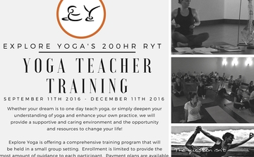 Yoga Teacher Training - 200hr RYT
