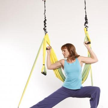 Sarah Kellett, ERYT-500, Creatress & Lead Instructor for OmGym® Suspension Yoga