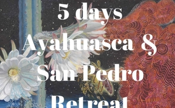 5 days Ayahuasca & San Pedro Retreat