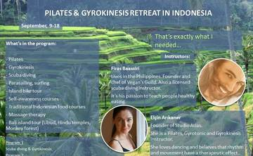 Bali Gyroknesis&Pilates&Diving Retreat