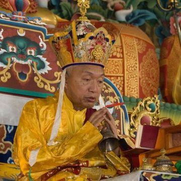 His Eminence Namkha Drimed Rabjam Rinpoche