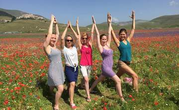 Make your yoga holiday happy with abundance in Italy