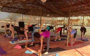 7 days Power Flow & Yin Pranayama Retreat on the Beaches of Goa, 29 October - 5 November 2016