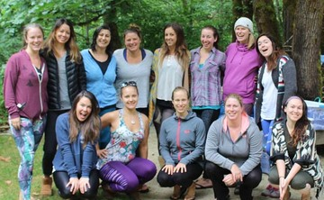 Back to Nature Women's Yoga Retreat in Oregon, July 2017: Session 2
