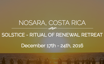 Solstice Ritual of Renewal Retreat (week 1)