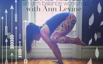 Lift Off and Take Flight! an arm balance workshop