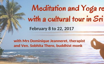 Yoga and meditation retreat with a cultural tour in Sri Lanka