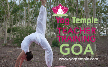 Intensive Residential Hatha Yoga Teacher Training Courses, Goa, India. (10% off)