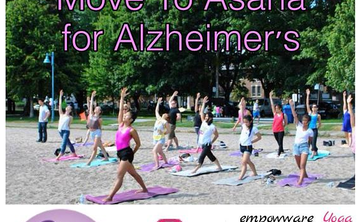 Beach Yoga - Move Yo Asana for Alzheimer's