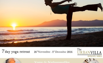 7-day Yoga & Naturopathy Retreat  in the mountains above Marbella ,26 November- 3 December 2016