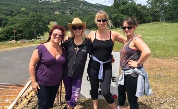 Harvest Ladies Yoga Retreat to Wine Country!