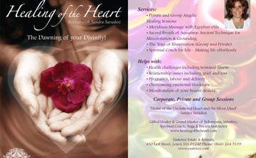 Healing of the Heart with Sandra Saradesi