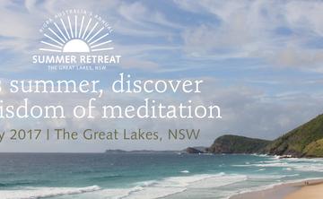 Rigpa Australia's Annual Buddhist Summer Retreat at The Great Lakes