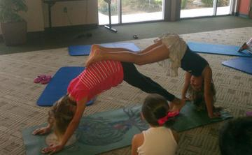 Kid Care and Yoga Play Time at Vinyasa Arts Yoga Studio!