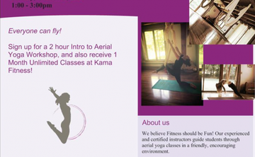 Intro to Aerial Yoga
