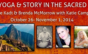 Kirtan, Yoga and Story in the Sacred Valley