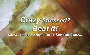 Crazy Stressed? Beat It! Only a few days left to get the holiday savings...