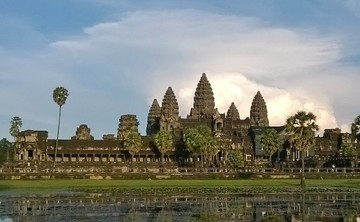 Temple Dreaming in Angkor Wat, Cambodia
