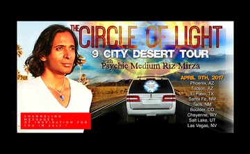 9 City South Western Desert Road Trip with Psychic Medium Riz Mirza