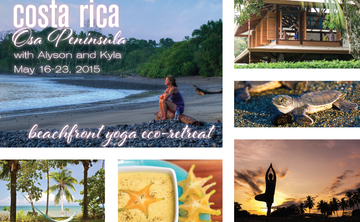 Yoga Vacation - Osa Peninsula, Costa Rica (May 16-23, 2015)
