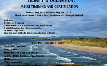 Reiki 1 and Ocean Fun Retreat!