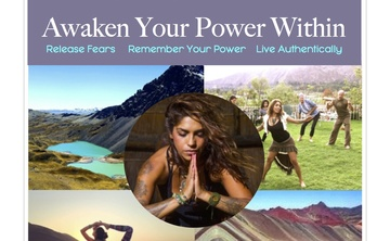 Awaken Your Power Within - An Exclusive 8 day Shamanic Dance, Conscious Sexuality, Plant Medecine and Yoga Transformation Retreat